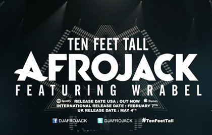 AFROJACK TEN FEET TALL MUSICVIDEO
